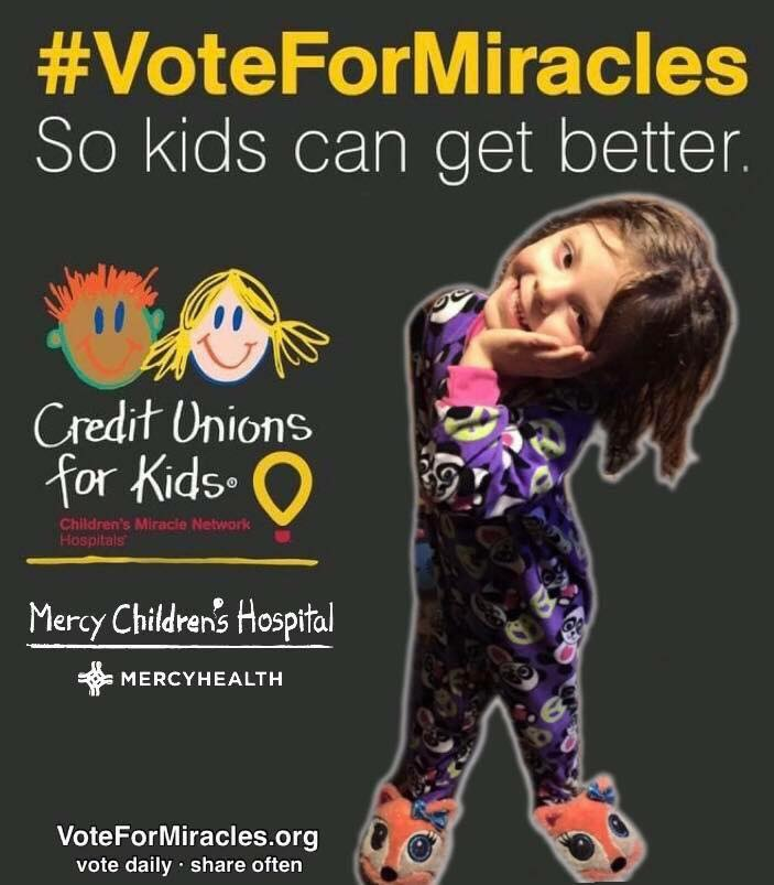 Vote for Mercy so Kids Can Get Better B Kidse for Mer