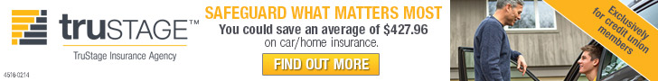 TruStage.  TruStage Insurance Company Safeguard what matters most.  You could save an average of $427.96 on car/home insurance. Find out More.